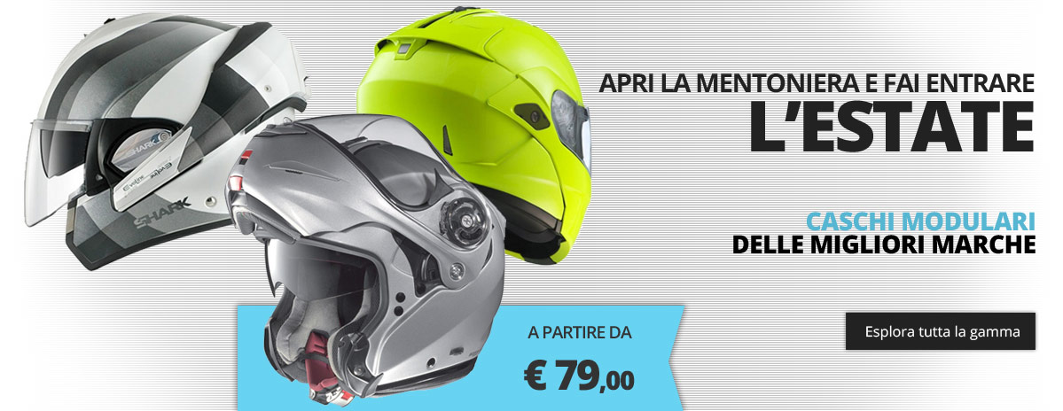 Caschi Moto Modulari