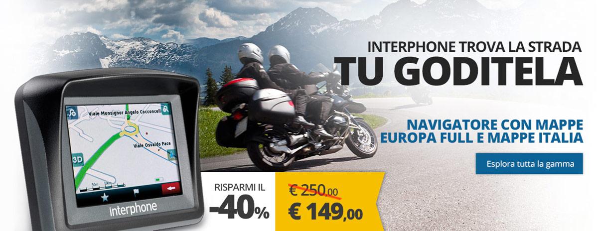 Le migliori Offerte Su Navigatori Moto Interphone